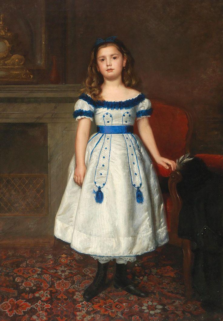 159 best 19th Century Children in Art images on Pinterest   Antique ...