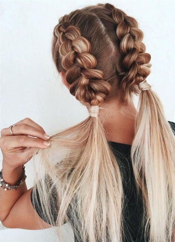 30 Susse Einfache Geflochtene Frisuren Tutorials Fur Kurzes Haar Sind Sie Auf Der Suche Nach E Geflochtene Frisuren Unordentliche Frisur Frisuren Mit Zopf