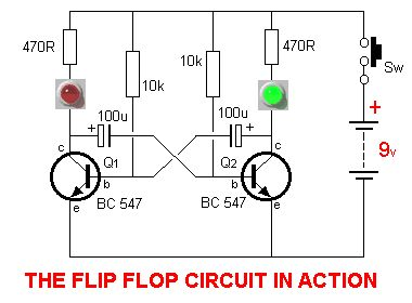 17 best images about tec elect arduino circuit flipflop circuit is a circuit that has two stable states and can