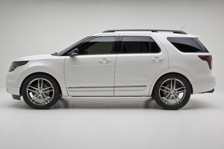 2012 ford explorer limited by dso eyewear exterior basf pearl tri coat white finished in glasurite 90 line custom finishes l interprises a pinteres - Ford Explorer 2012 Black