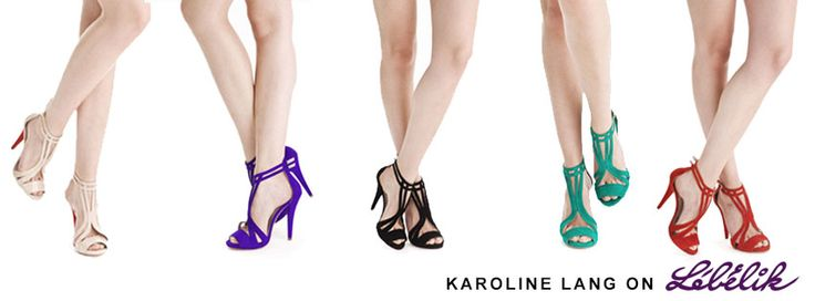 These heels are the perfect touch for a classy outfit. Pick your color! Find Karoline Lang on Lebelik: http://www.lebelik.com/brands/Karoline-Lang.html  #heels #color #womens #fashion
