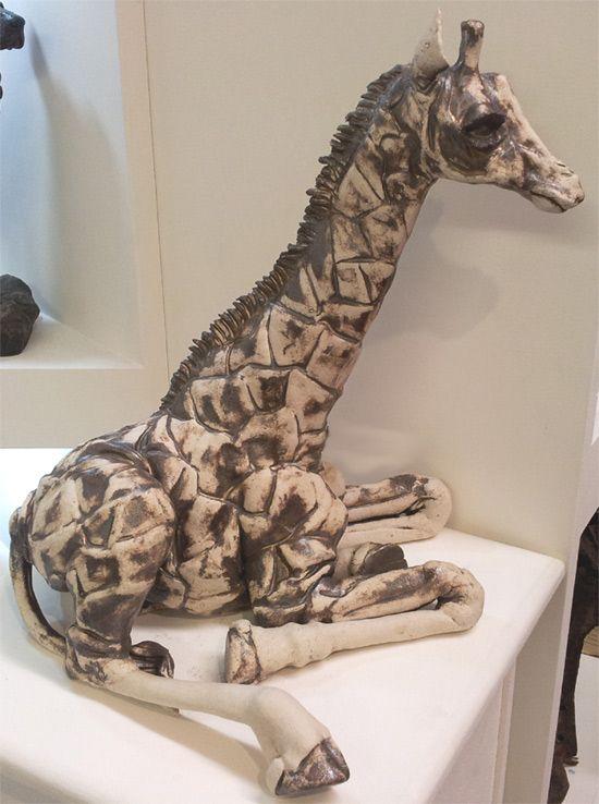 Best Giraffes Images On Pinterest Baby Giraffes Giraffe Art - Sporting clay window decalsgiraffe garden statue giraffe clay pot clay pot animal