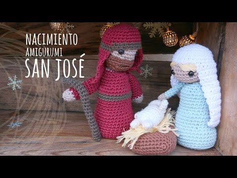 Tutorial Belén Amigurumi Part 1: Virgen María (Nativity English subtitles) - YouTube