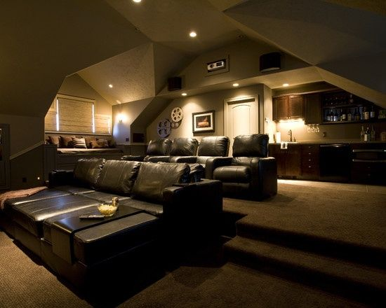 Media Room Design, Pictures, Remodel, Decor and Ideas –  – #GamerRoom|DIY