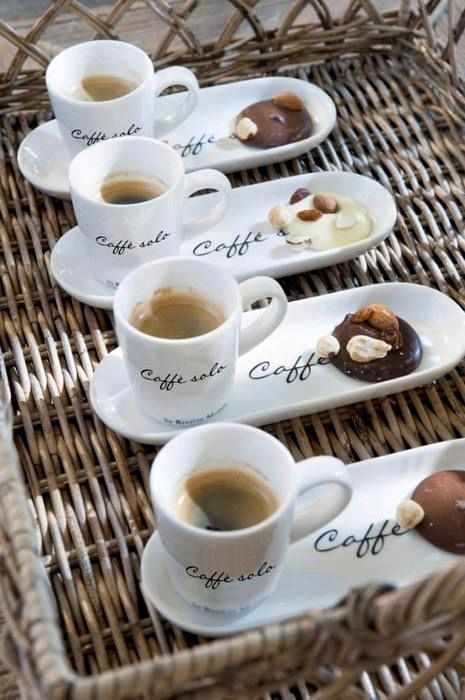 .WHAT A NEAT IDEA FOR COFFEE
