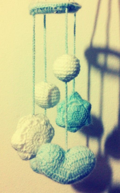 Movil al crochet...