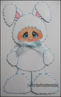 Premade Bunny Paper Piecing for Scrapbook Pages by Babs | eBay