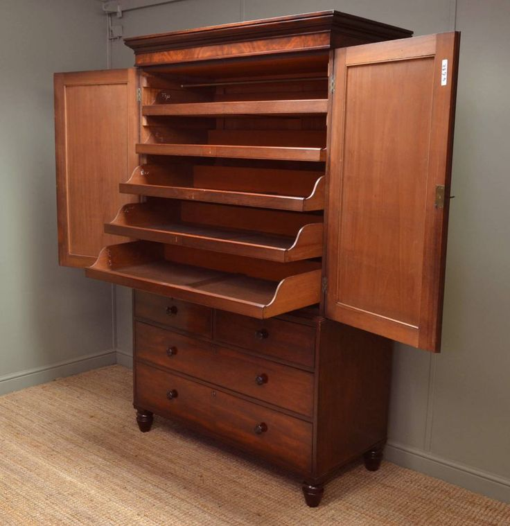 wanted Regency Mahogany Antique Linen Press for hallway outside bathroom  but build to far advanced on - 27 Best Antique Jelly Cupboard Images On Pinterest Jelly