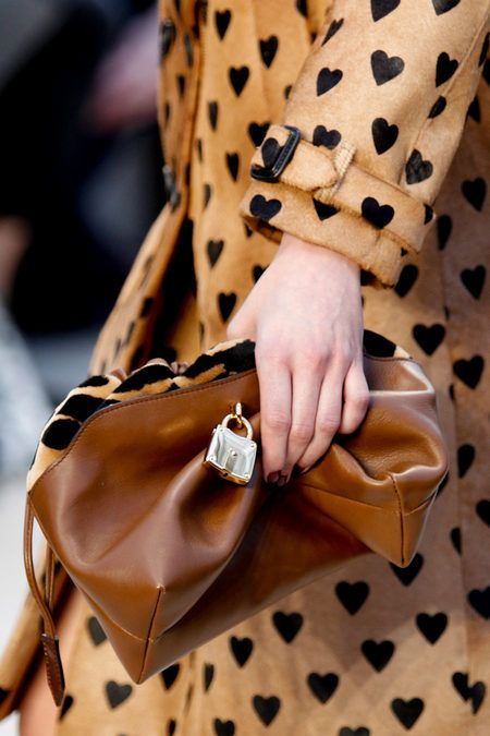 #hearts on a trench coat via @Burberry Fall 2013 - love it! #fashion #style