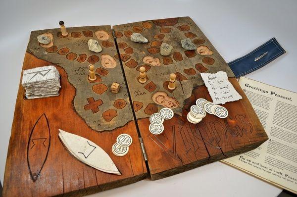 Vikings Board Game by Sarah Schanke, via Behance