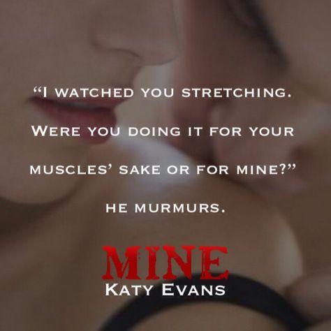 #Mine #KatyEvans