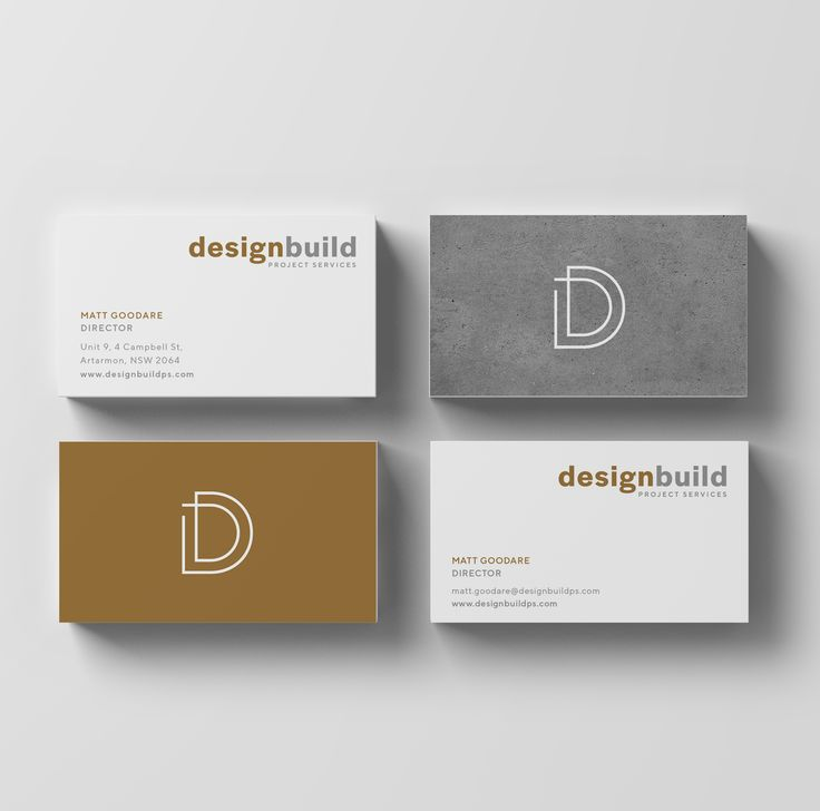 Business Card Design. Rust and Grey, concrete texture.