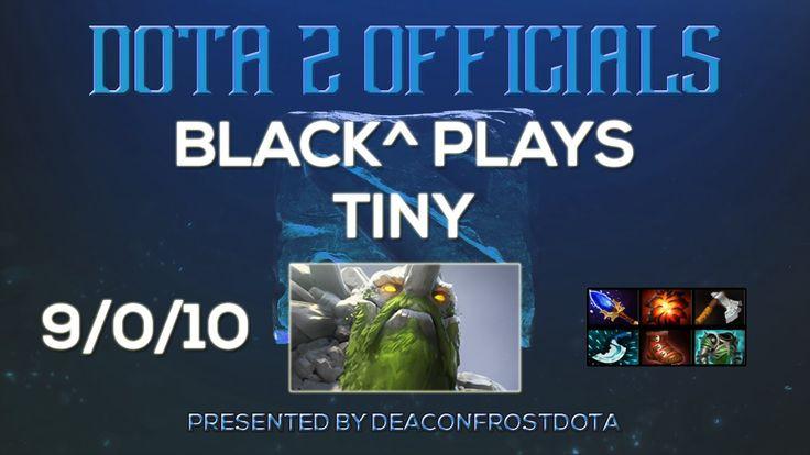 Dota 2 Officials Black^ Plays Tiny [1858731320]