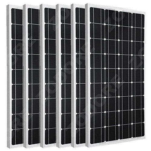 ZODORE Solar Panel ZODORE 6 Pcs*100 Watt 100w Monocrystalline Photovoltaic PV Solar Panel Module 12V Batter No description (Barcode EAN = 0701988930630). http://www.comparestoreprices.co.uk/december-2016-6/zodore-solar-panel-zodore-6-pcs100-watt-100w-monocrystalline-photovoltaic-pv-solar-panel-module-12v-batter.asp