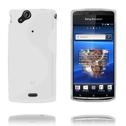 S-Line (Hvid) Sony Ericsson Xperia Arc Cover
