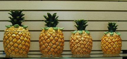 Pineapple Canisters Kitchen Pinterest Shopping