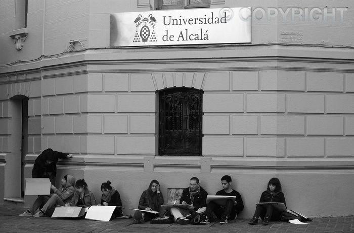 Estudiantes de Arte - Santiago