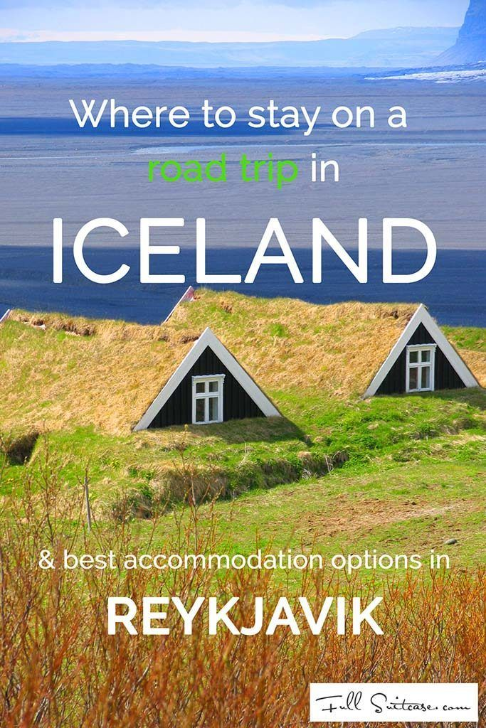 Best places to stay on a road trip in Iceland and best price - quality hotels in Reykjavik