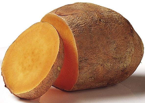 Sweet potatoes may be one of nature's unsurpassed sources of beta-carotene.