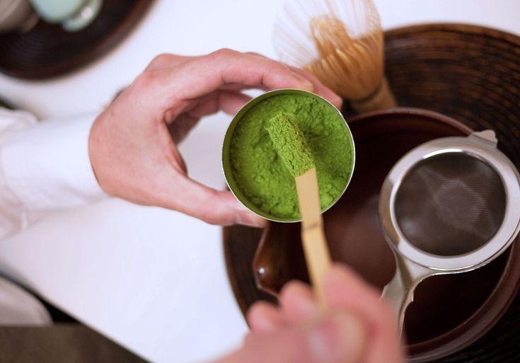 How to Make Matcha, Japanese Green Tea, Step by Step Slideshow Photos - Bon Appétit