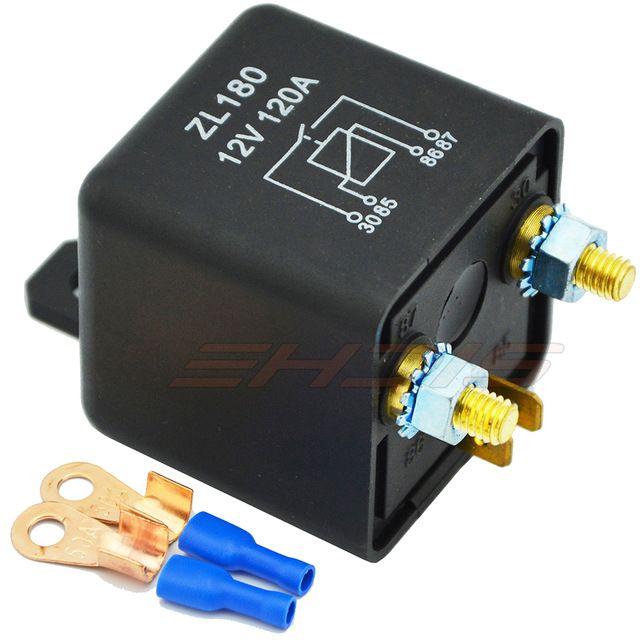 120A 12V/24V Car Truck Motor Battery Switch Automotive Relay