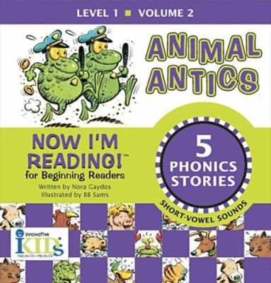 Buy a cheap copy of Animal Antics: Now Im Reading! (Level... book by Nora Gaydos. Ten exciting stories for young ones to read all on their own! Let Fat Cat, Hot Dog, Stuck Duck and friends teach your child the ABCs of reading! In this Level One... Free shipping over $10.