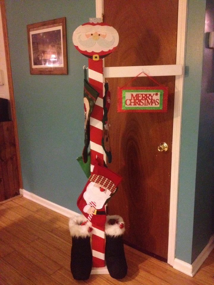 Best stocking stand ideas on pinterest