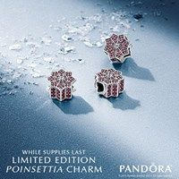 It's finally here! Purchase the Limited Edition Holiday Poinsettia charm from PANDORA Jewellery to welcome the season in style. Shop PANDORA Jewellery and make your Black Friday a unique one. *Valid at participating retailers only. Void where prohibited. Not valid for prior purchases or gift cards. While supplies last. #pearhome #orangeville #blackfriday