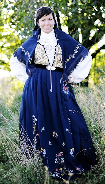 FolkCostume&Embroidery: Overview of Norwegian Costumes part 3A, the West