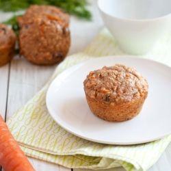 Quinoa Carrot Cake Breakfast Muffin
