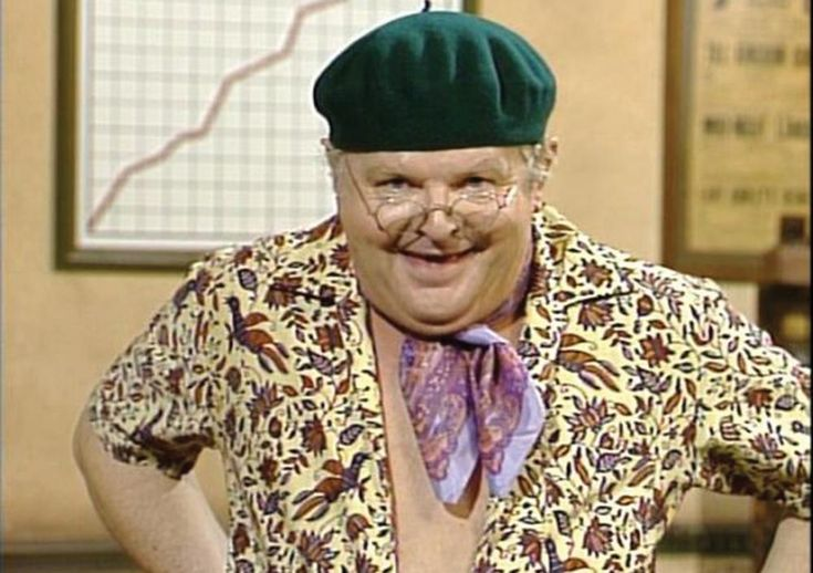 Benny Hill. This one is for my Uncle Vinny.