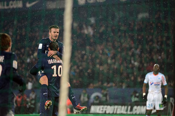 inventfootball: Through Ryu's Lens: Beckham rises in Paris, Marseille falls It was the grand derby, Le Classique between Paris St Germain and Marseille. PSG hoped to extend their lead in Ligue 1, and were somewhat fortunate to come away with a cool 2-0 victory. Beckham finally made his debut in France, coming on for the final 15 minutes and playing a chip that would lead to Zlatan Ibrahimovic grabbing the second for the French giants. Ryu was in town to see the derby, as well as Beckhamania…