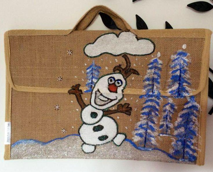 Olaf book bag