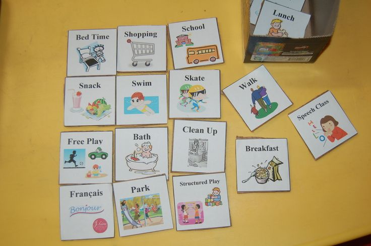 daily schedule for toddlers and preschoolers.