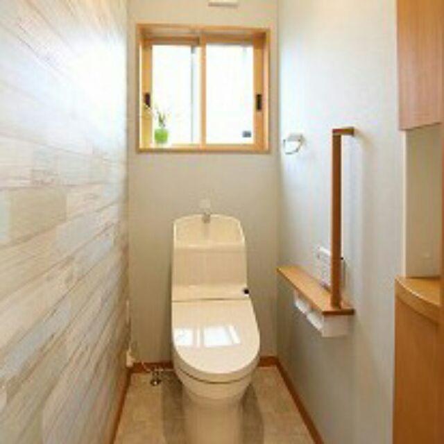 tommyさんの、バス/トイレ,トイレ,壁紙,のお部屋写真
