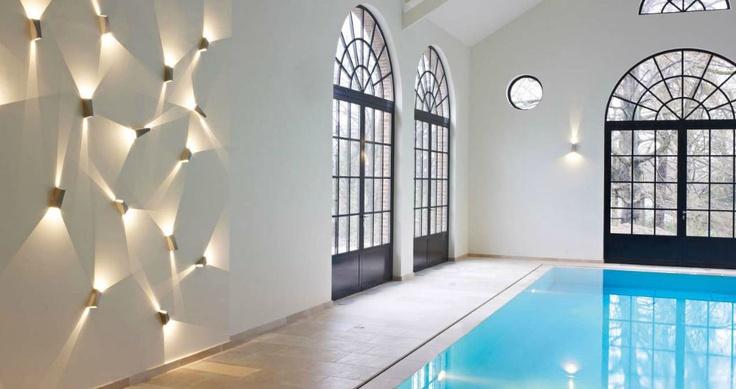 contemporary wall light (LED) TOPIX DELTA LIGHT