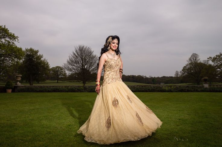 Indian Wedding Reception Gowns