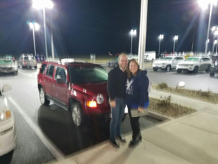Congratulations to Mr & Mrs. Evan Fifer of Highland on their purchase of their 2012 patriot. Big thanks from from your friends at Staunton Chrysler Dodge Jeep Ram. We love to see you happy.