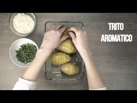 Ricetta Patate Hasselback - Cucchiaio.it