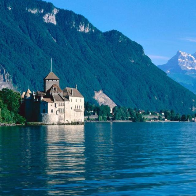 Chillon Castle | Lake Geneva, Switzerland