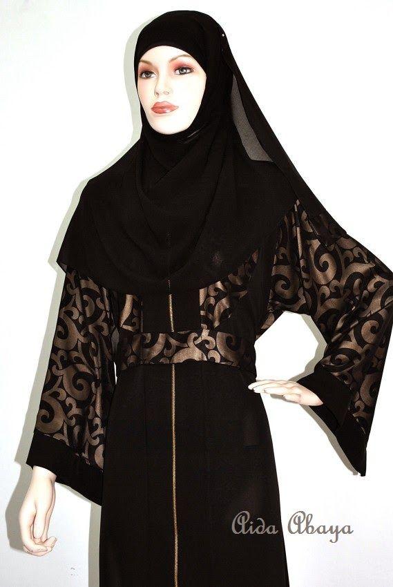 NADIA ABAYA - 260 RINGGIT - SOLD OUT! Fabric : High quality NIDA Shawl : Chiffon Silk. Available Sizes: ...