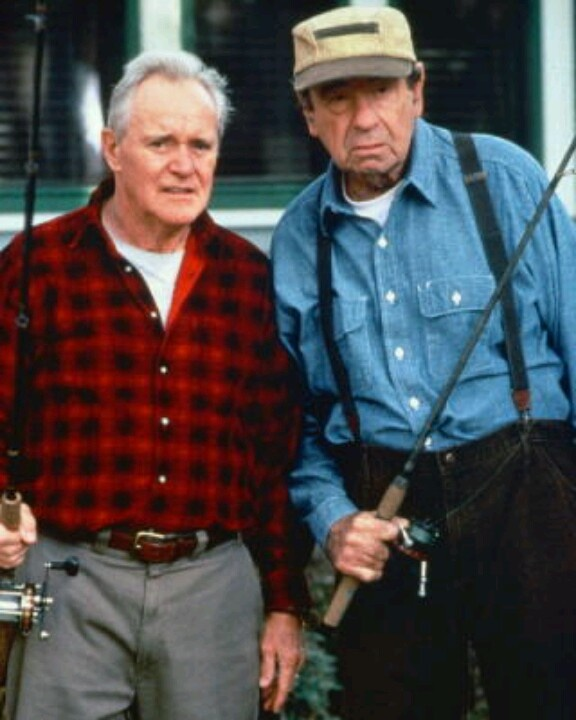 Jack Lemmon & Walter Matthau. Good morning dickhead. Hello moron. They were so funny in Grumpy Old Men