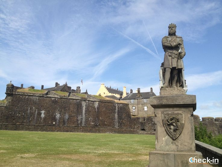 Visita del Castello di #Stirling con il biglietto Historic Scotland Explorer Pass, #scozia