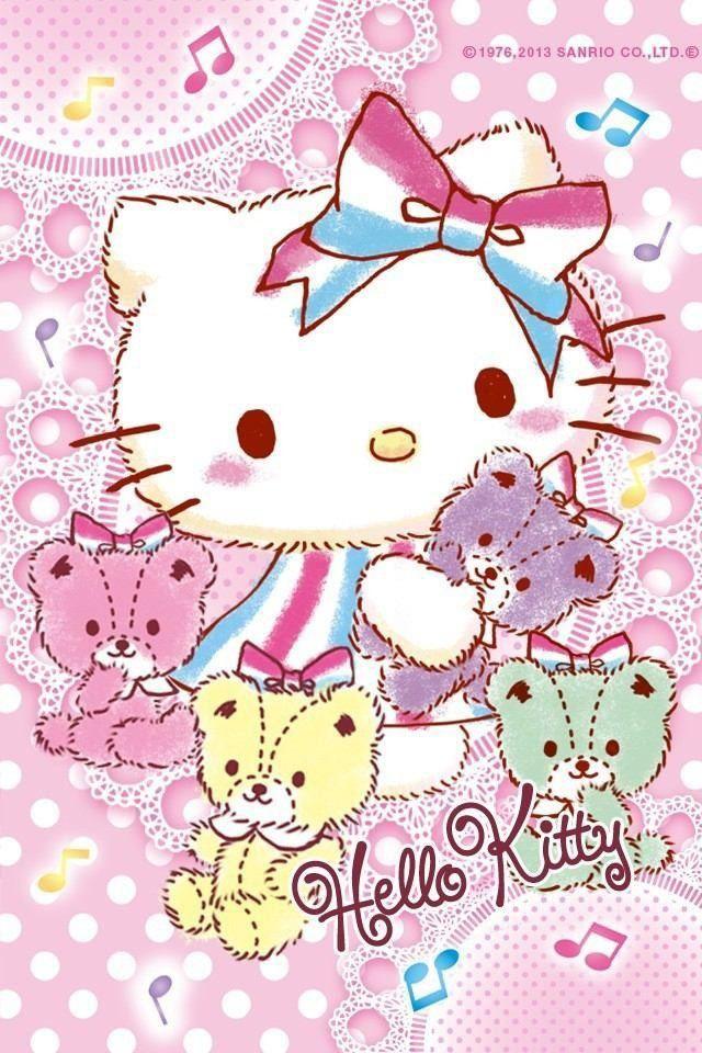 キティ 壁紙 完全無料画像検索のプリ画像 キティちゃん Hello