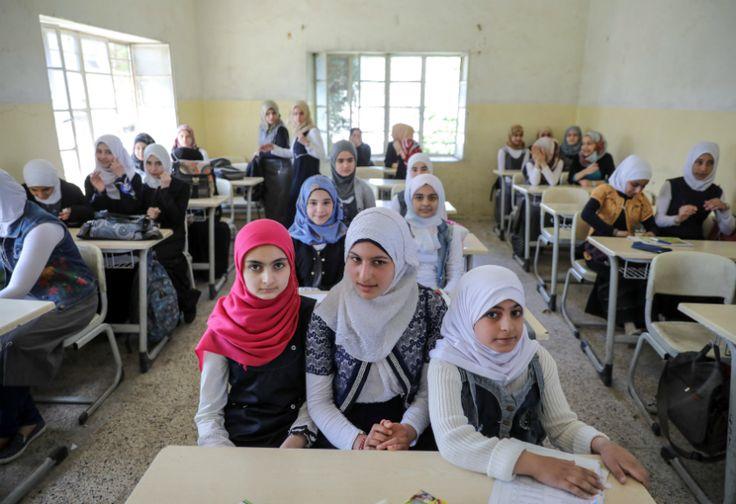 Kembali ke Sekolah Impian Besar Anak Irak