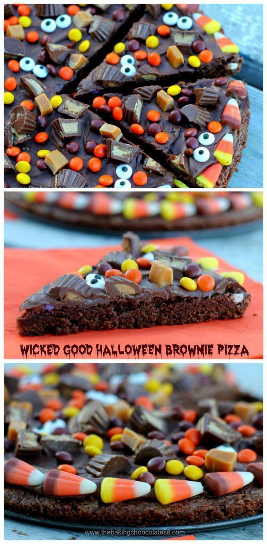 halloween brownie graveyard recipe