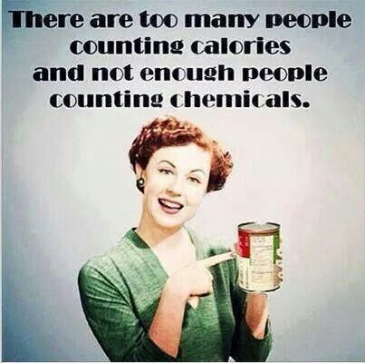 So true!  Message me to find out how to stop counting chemicals with me!  www.facebook.com/ToxicFreeWithJennaLee    Www.Avaandersonnontoxic.com/JennaLee