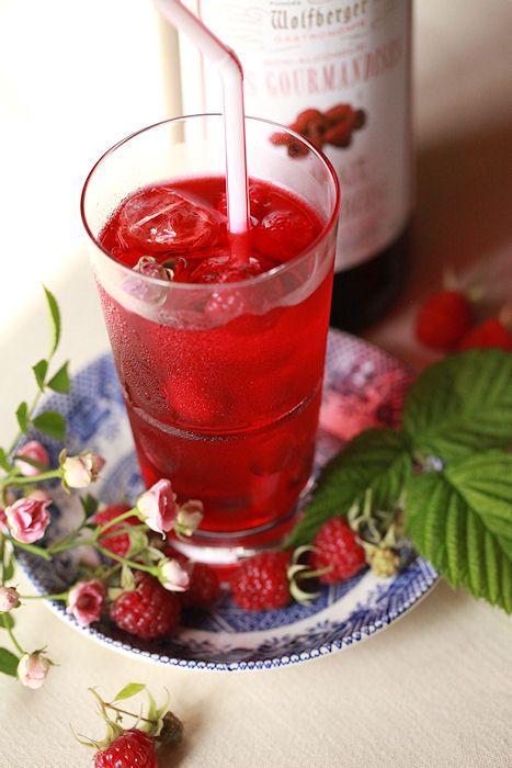 ローズ&ラズベリードリンク:  Rose & Raspberry drink