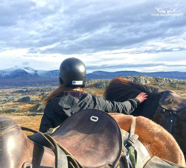 Riding through Incredible terrain on Icelandic horses in Tydal, Norway - with Dyrhaug Ridesenter. Tydal is in Sør-Trøndelag, near the city of Trondheim.