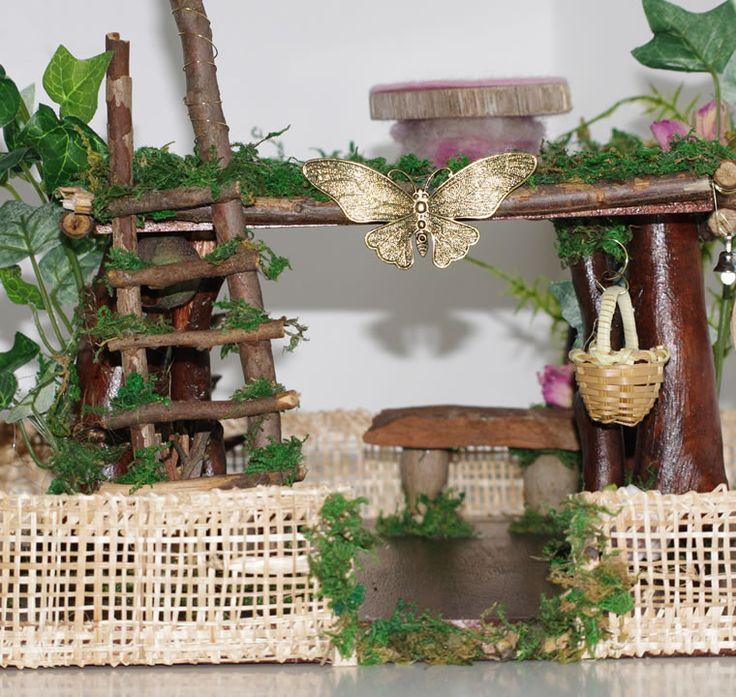Garden Fairy Butterfly Lodge
